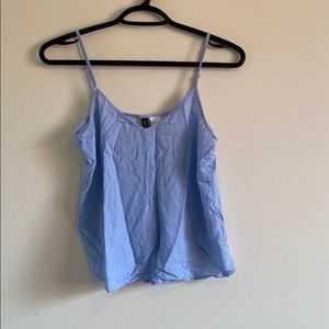 Free Blue and White Stripped tank